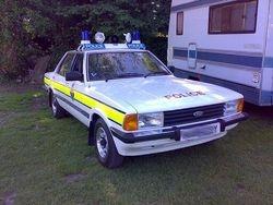 Cortinal Police Area car