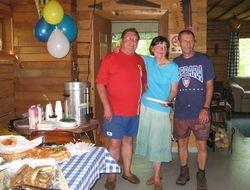 Tripe Birthday at Fork Lake 2009