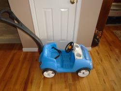 Step 2 Deluxe Push Buggy- Whisper Ride II - $40