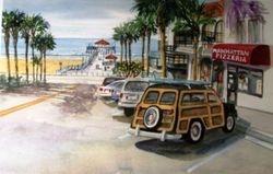 Manhattan Beach Pier & Woodie