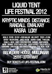2012.05.25-27 - Life Festival Liquid Tent - Mullingar @ Ireland