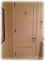 bedroom door installed
