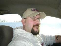 Mark behind the wheel!!!