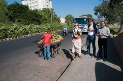 Coconut break at Jaipur