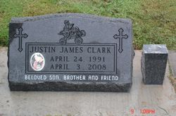 "28"" Flash Black slant marker set on concrete"