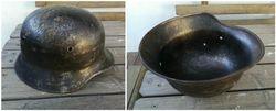 Vokiskas salmas. German helmet WW2. Kaina 103