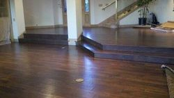 Hardwood Flooring with Stairs