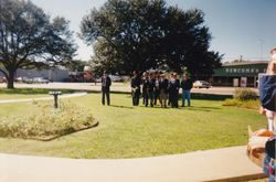 Groce Memorial Dedication