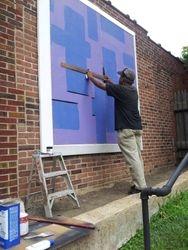 Dexter prepares new mural
