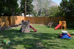 Safe backyard