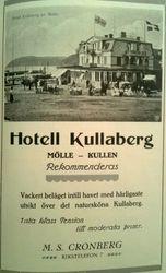 Hotell Kullaberg 1915