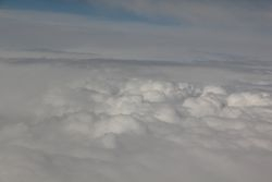 Shot of the Clouds from above