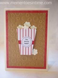 Popcorn Box Card 2