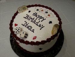Vegas Theme Cake