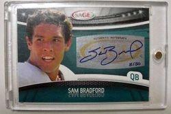 2010 Rookie Sam Bradford Sage 1/1 #8/50