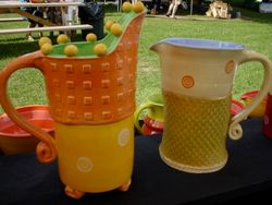 Funky, Whimsical Pitchers