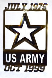 Customized Army Sign