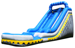 18' City Skyline wet or dry slide