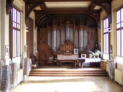 The organ of Marcel Dupré. Today owned by the Teboul family of Meudon, France