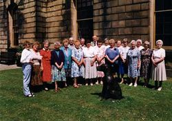 WA Ladies visit Duke of Devonshire at Chatsworth House