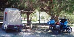 Tom's campsite at 1997 AGM Wagga Wagga NSW - Mar 1997