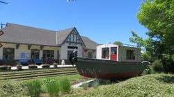 Boat Ancaster at Owen Sound museum