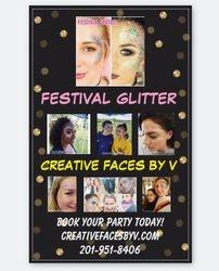 Festival Glitter Banner