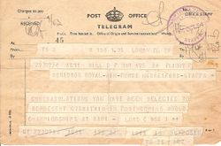23rd to 24th October 1954
