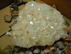 Unidentified Mineral on Apophyllite