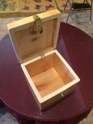 cube box opened