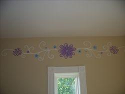 floral/swirl pattern