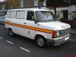 1980s Police minibus