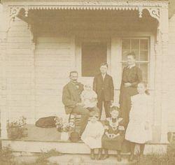 Benjamin Fouse Grove Family