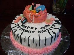 Makeup Bag Teen Cake