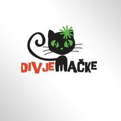 logotip Divje macke