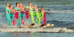 Water Ski Team by Annette VanLengerich (AW)