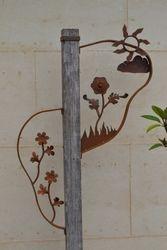 Flower Post.
