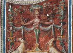 Diana of Ephesus, Villa Lante, Bagnaia, 1570s