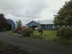 House and 2 barns in the back, Canby OR