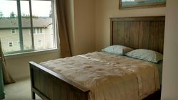 Custom Wormy Maple Bed