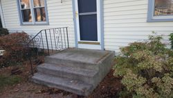 Before Front stoop