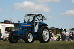A nice Roadless 75 tractor