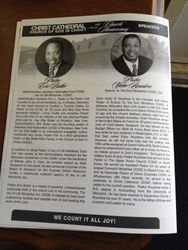Pastor Rountree is the Guest Speaker