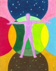 All Life in Between, Oil Pastel, 11x14, Original Sold
