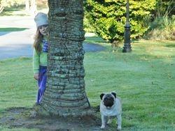 Peeka-Boo! Grace & Obelix