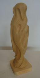 """Bird sculpture: 4"""" x 4"""" x 12""""high  $25.00"""