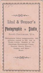 Lind & Donner, photographer of South Kaukauna, WI
