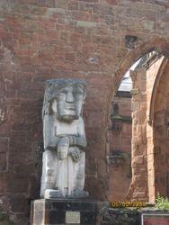 Statue in the Interior