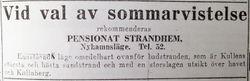 Pensionat Strandhem 1931