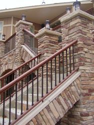 Sustainable Stone Stair System